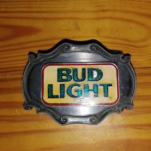 {Bud Light} Belt Buckle